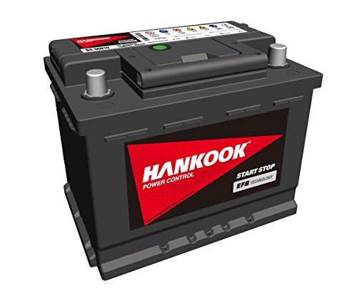 Hankook EFB 560 10 Start-Stop Autobatterie 12V 60Ah 560A/EN, wartungsfrei