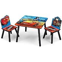 NEU Disney Cars Kindersitzgruppe Kindertischgruppe Tisch + 2 Stühle