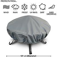 Heavy Duty Premium Large Waterproof Fire Pit Cover – Size: 131cm Diameter Approx.