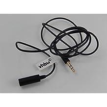 vhbw Verlängerung Kabel 1 Meter schwarz für Kopfhörer Bose OE, OE2, OE2i