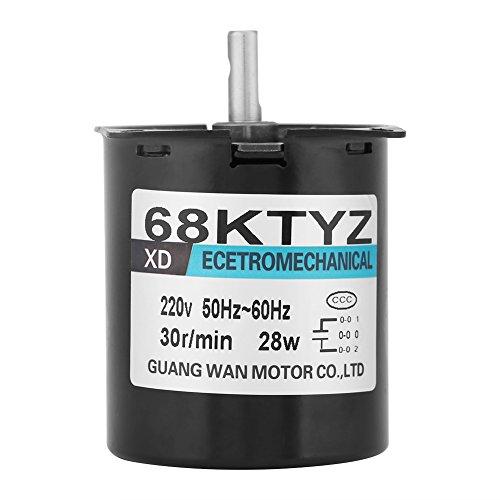 86169af683a Motor Eléctrico Sincrónico Motor de Baja Velocidad Ajustable Motor de Imán  Permanente CW   CCW 2.5