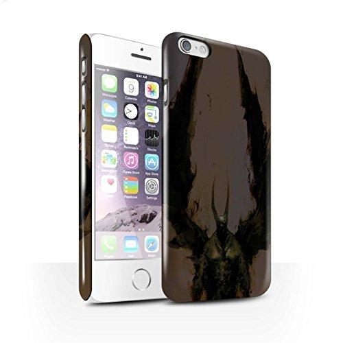 Offiziell Chris Cold Hülle / Glanz Snap-On Case für Apple iPhone 6S / Teufel/Tier Muster / Wilden Kreaturen Kollektion Teufel/Tier
