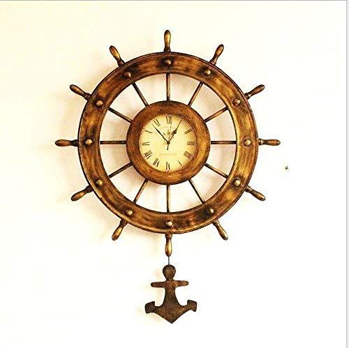 HhGold Reloj de Pared Movimiento silencioso Reloj de Pared Decoración de...