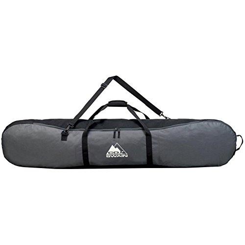 COX SWAIN Snowboardbag -VAHALLA- Platinum Kollektion, Colour: Dark Grey/Black, Size: 165cm (Snowboard Boot-und Board-tasche)