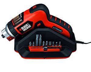 Black + Decker CS3652LC Tournevis 3,6 V 1,5 Ah