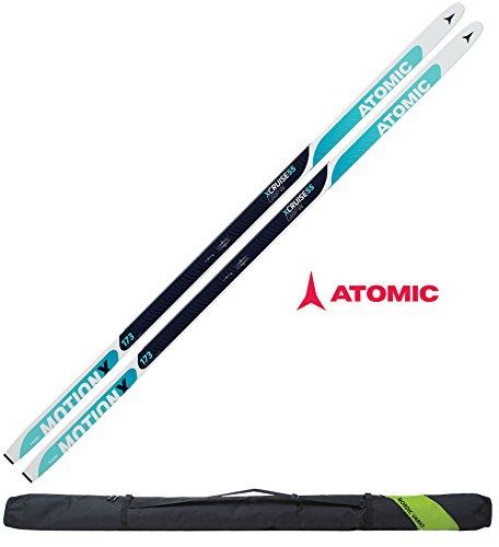 Atomic Damen Langlaufski-Set XCRUISE 55 women in 163cm + Bindung + Skisack 16/17