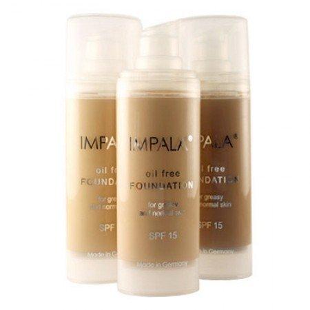 Impala Foundation Oil-Free 06 Longwear with Vitamin E, Aloe Vera Extract and UV filter Normal Oily Skin