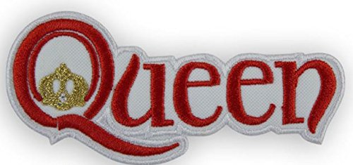 MAREL Red Queen Freddy Mercury parche termoadhesivo