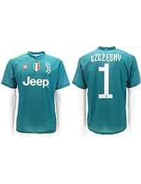 855b26e0ad Camiseta de Fútbol Wojciech SZCZĘSNY Portero 1 Juventus Home Temporada 2018-2019  Replica Oficial con