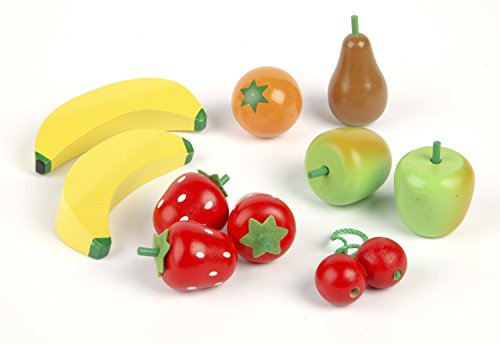 Tidlo Wooden Fruit Salad - Play Food Set