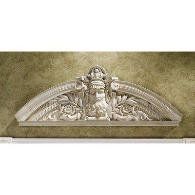 Design Toscano Prometheus, der rebellische Titan, Skulpturales Wandpediment - 2er-Set