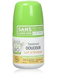 So'bio étic- deodorant au lait d'anesse 50 ml lot de 2
