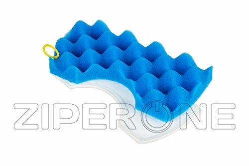 Service Markt Marke OEM New Schaumstoff blau Micro Staub Filter genau wie Original für Samsung Staubsauger Dj97-01040C Schaumstoff Gummi Teilenummer sm00000019737a -