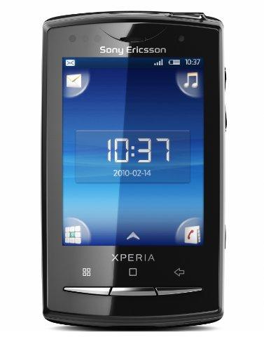 Sony Ericsson Xperia X10 mini pro Smartphone (6,6 cm (2,6 Zoll) Display, QWERTZ-Tastatur, Android OS, WLAN, GPS, 5 Megapixel Kamera) schwarz (Xperia Ericsson Mini Sony)