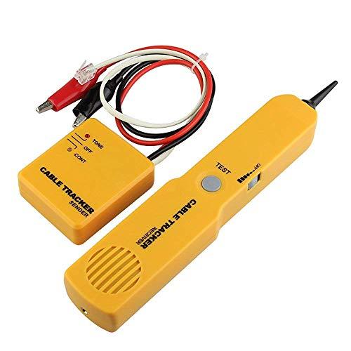 DAXGD Bewegliches RJ11 Netz-Telefon-Telefon-Kabel-Prüfvorrichtung Toner-Draht-Verfolger-Verfolger Diagnose Tone Line Finder