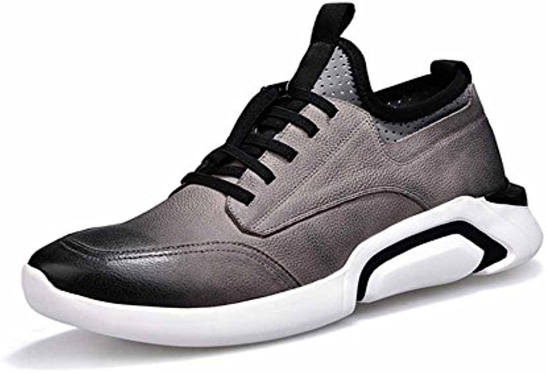 a57fccd9684867 glshi hommes occasionnel des chaussures de course nouvelle courroie en en  en cuir chaussures de sport outdoor fashion fitness respirants chaussures  ...