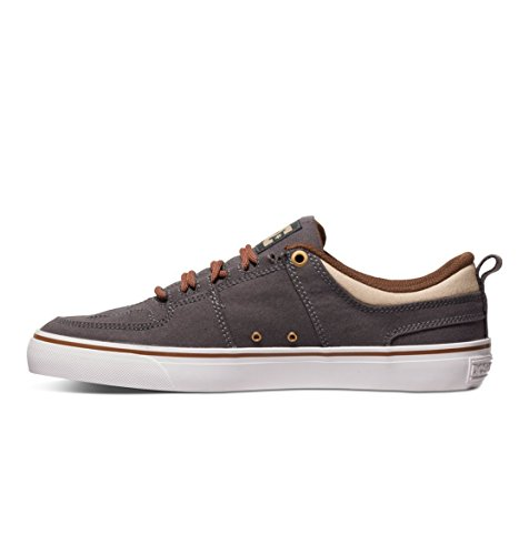 DC - Lynx Vulc Tx Chaussures pour hommes Charcoal Grey