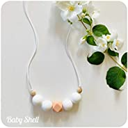 Collier d'allaitement et de portage BABY SHELL - Sweet Candy P