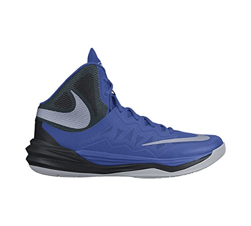 Nike Prime Hype DF II, Chaussures de Sport-Basketball Homme, Taille Royal/Black/Reflect Silver
