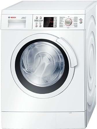 Bosch WAS32443 Waschmaschine Frontlader Logixx 8 / A+++ A / 1600 UpM / 8 kg / Weiß / VarioPerfect / AquaStop