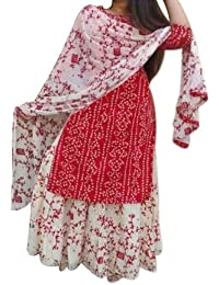 Aranatha Enterprises Cotton Kurta with Mulmal Dupatta Set for Women's Women's Palazzo Kurta Set