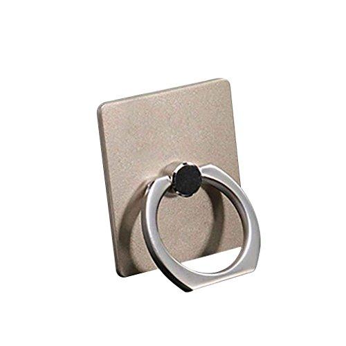 Uzinb Ring Stand-Halter 360 Grad Drehung Arttelefon Seitenständer für Telefon-Tablette
