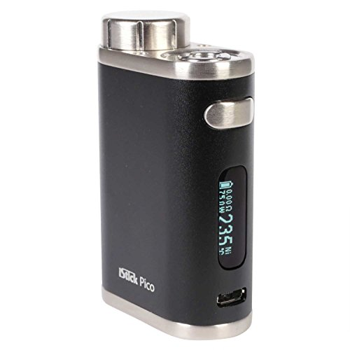 Eleaf iStick Pico MOD 75 Watt, Riccardo e-Zigarette - Akkuträger, schwarz