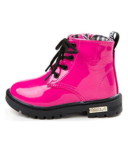 Baby Schuhe Kleinkind Jungen Mädchen Stiefel Winter Kinder Martin Schnee Stiefel Rosa 24.5 (Kleinkind-jungen-schnee-stiefel)