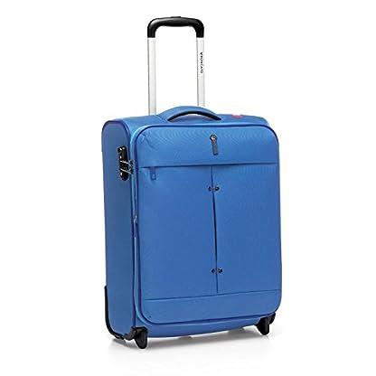 Roncato Ironik–Trolley Pequeño/Cabina expandible 2ruedas–cm 55x 40x 20/23–lt. 39/45–kg 2,1–Cierre Combinación TSA