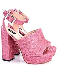 Amazon.it  Pinko - Scarpe col tacco   Scarpe da donna  Scarpe e borse 971a5ae638d