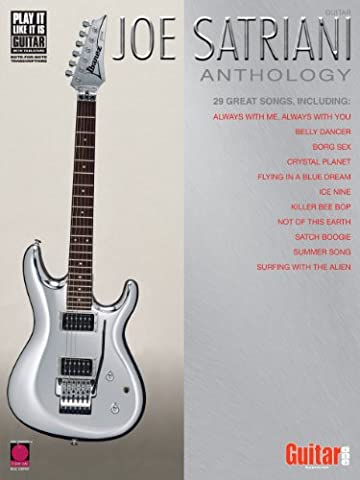 Joe Satriani Anthology Songbook (Play it Like it is Guitar)
