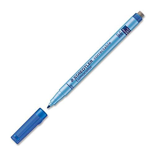staedtler-lumocolor-correctable-m-marcador-azul