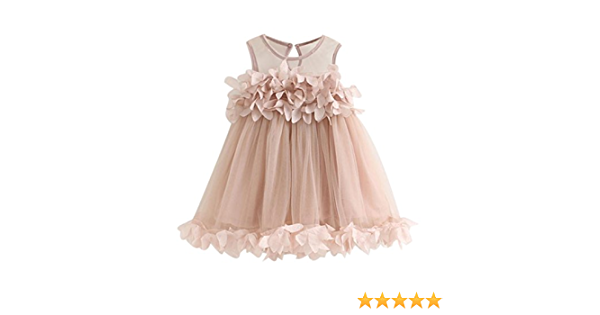 Prinzessin Fly Sleeve Pl/üsch Revers Kragen und Saum Rock Weihnachten High-Waist Midi Baby Girl Kleid