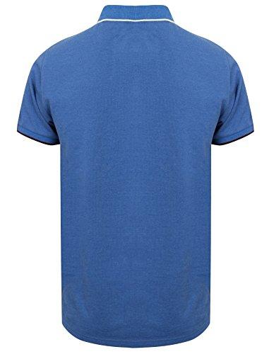 Tokyo Laundry Herren Poloshirt 1X9297_Tiger_Bay_Blue