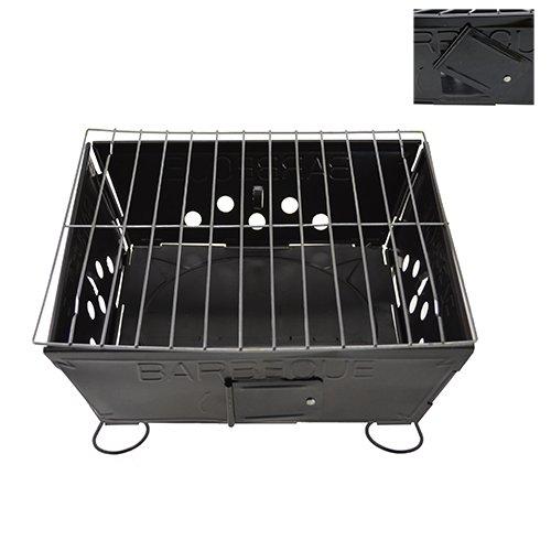 41LooUVOc0L - NEAN Grill Barbecue Klappgrill Einweggrill Faltgrill Mini-BBQ-Grill Mangal
