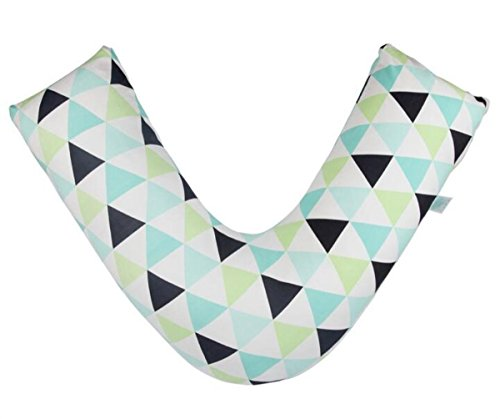 Breast pillow Maternité Femmes Oreiller Allaitement oreillers pour Nourrissons pour bébés Soins de Type V Protection de la Taille Oreiller Multifonction de Sommeil, 1