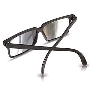 Spy sunglasses with side mirrors to see behind