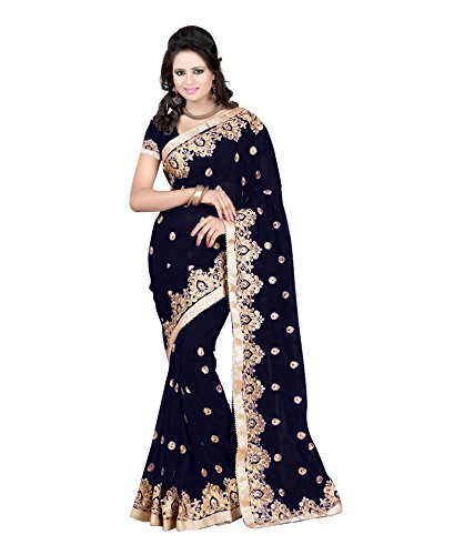 Women's Fashion Designer Faux Georgette saree
