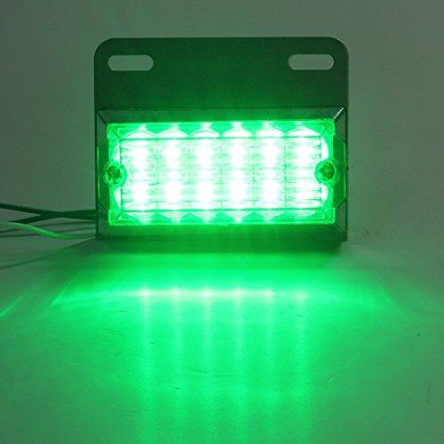 MASUNN 12V 12 LED Lampe de Marque de côté Lampe pour Camion remorque camions Van - Vert