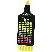 Faber Castell Textliner - Expositor de 60 marcadores fluorescentes, colores surtidos