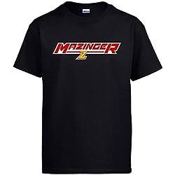 Diver Camisetas Camiseta Mazinger Z - Negro, XL