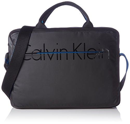Calvin Klein Jeans  LOGAN LAPTOP BAG, Sacs bandoulière homme Noir - Schwarz (BLACK 001 001)