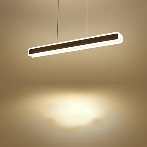 Yuyuan Light Rechteckige Eisen-LED-Decken-Lampe, modernes einfaches kreatives Büro-Kronleuchter, individuelles Wohnzimmer-Gaststätte-Treppenleiter-Kronleuchter, hohe Helligkeit Acryl-hängende Lampe, weißes Licht 30W Weiß (Rosa Herz Bauch Juwelen)