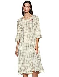 BIBA Cotton a-line Dress