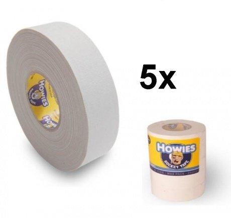 Howies 5x Schlägertape Cloth Hockey Tape 25mm f. Eishockey 18,2m
