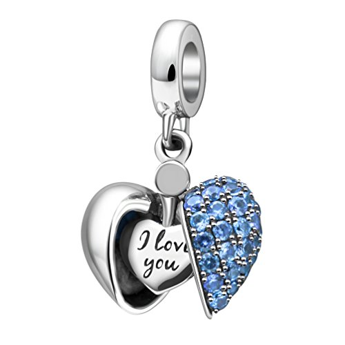 Soukiss Dangle Charms  -  925-Sterling  Sterling-Silber 925     zirkonia  (Erweiterbare Armbänder Mit Charms)