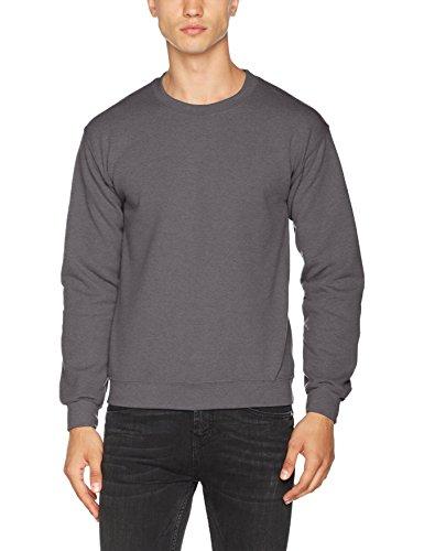 Gildan Herren Sweatshirt Grau (Anthrazit)