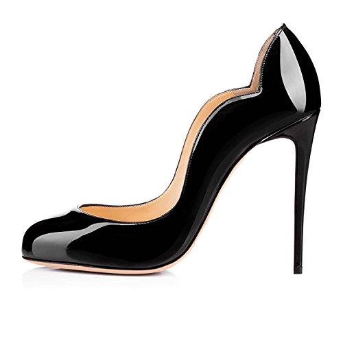 EDEFS - Scarpe da Donna - Tacco a Spillo - 12CM High Heels - Scarpe col tacco donna Nero