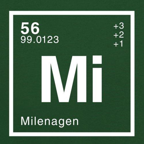 Milena Periodensystem - Herren T-Shirt - 13 Farben Flaschengrün