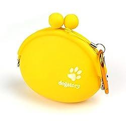 WINNERUS 1 STÜCK Pet Silica Snack Pack Tragbare Tasche gürtelschnalle Outdoor-hundeschulung Tasche Komfortable tasche Hundetrainingstasche (Gelb)